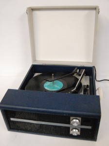 1960s Fidelity Record Player